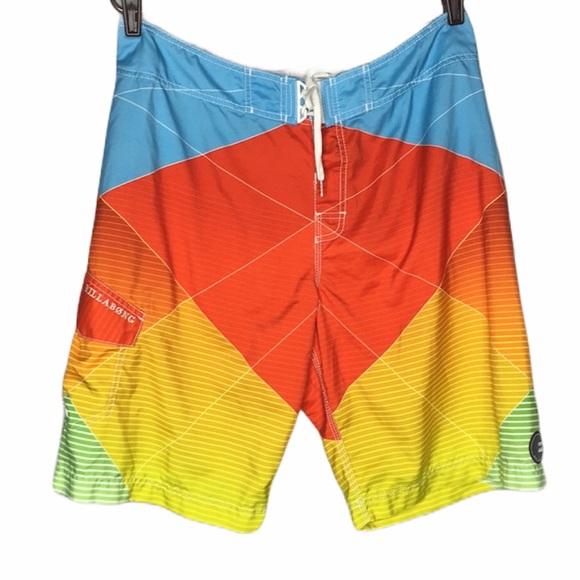 BiLLABONG men's swim board trunks shorts
